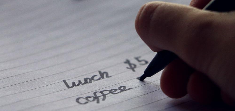 Write Down Expenses